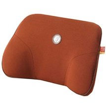 Comfortable Back Support Lumbar Support Soft Car Seat Cushion Back Brace Brown