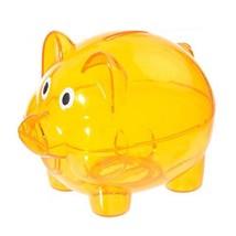 Penck Plastic Piggy Bank Coins Holder Home Money Cash Saver Saving Stora... - $10.05