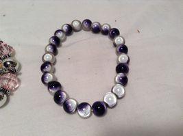 NEW Set of 3 Multicolored Beaded Bracelets  image 4
