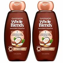 Garnier Whole Blends Smoothing Shampoo with Coconut Oil & Cocoa Butter Extracts, - $14.25