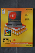 Microsoft  Office Xp Standard For Students And Teachers 2002 Version for... - $9.99
