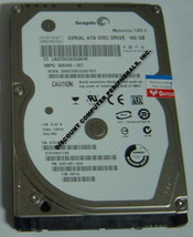 "New ST9160411AS Seagate 160GB 7200RPM SATA-300 2.5"" Hard Drive Free US Ship"