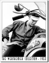Elvis on Motorcycle Music Elvis Presley The King Rock n Roll Musician Me... - $20.95