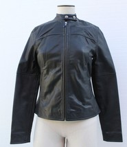 True Religion Ladies Leather Jacket Black, Size XS BNWT $698 - $199.75