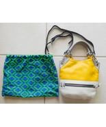 Purse Bag orYANY Mini Sydney Colorblock Leather Crossbody Sun-Cream-Grey... - $126.74