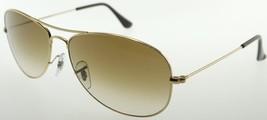 Rayban Cockpit 3362 001/51 Gold Brown Gradient Sunglasses - $126.91
