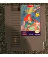 Disney's The Little Mermaid (Nintendo) 1991 Capcom NES video game FREE S... - $16.61
