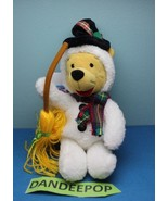"Walt Disney Store And Parks Mini Bean Bag Plush Snowman Winnie The Pooh 8"" - $11.87"