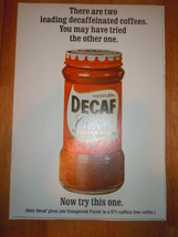 Vintage Nestle's Decaf Instant Coffee Print Magazine Advertisement 1965 - $4.99