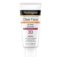 Neutrogena Clear Face Liquid Lotion Sunscreen with SPF 30, 3 fl. oz.. - $19.79