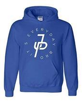 Jake Paul Its Everyday Bro Hoodie, Mavericks Merch Royal Blue (White Print) - $29.99+