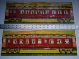 Twilight Express Puzzle Milton Bradley Antique Jigsaw Pieces Box Toy Treasure image 5