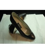 NWOB Bally Chocolate Brown Croc Stamped Leather 2'' Stacked Heel Size 5 - $88.11