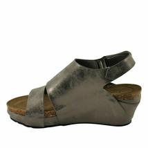 Pierre Dumas CHANTAL-6 Pewter Women's Platform Wedge Sandals - $38.95