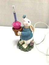Easter Figurine Decor Bubble Lamp NWOT electric - $99.00