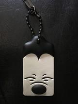 NWT Coach 1941 X Disney squinting Mickey Mouse Hangtag Bag Charm black g... - $55.00