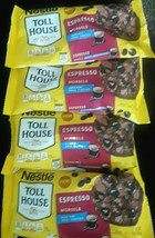 Lot of 4 Bags Nestle Toll House Espresso Morsels 9 Ounce Oz Bags Exp 10/... - $15.83