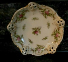 """Vintage Rosenthal KRONACH-GERMANY Moliere Small Bowl 5"""" Across Roses Design - $4.94"""