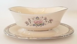 Lenox Charleston Gravy Boat Bowl Attached Underplate Cosmopolitan Collec... - $57.42