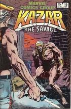 (CB-1} 1982 Marvel Comic Book: Kazar the Savage #19 - $3.00