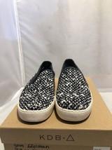 Sam Edelman Becker Slip-On Black White Woven Fashion Sneakers Size: 8.5 M - $34.65