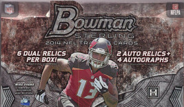 2014 Bowman Sterling Football Hobby Box - Factory Sealed! - $247.50