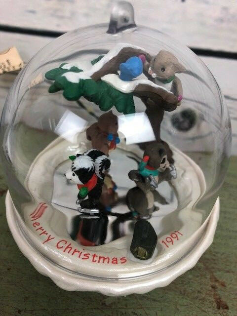 Hallmark Keepsake Ornament Magic Forest Frolics Collector's Series 1991