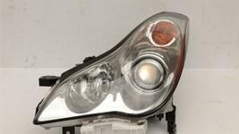 08-09 Infiniti EX35 Halogen HeadLight Lamp Driver Left LH image 1