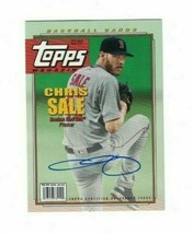 Chris Sale 2019 Topps Archives TOPPS MAGAZINE AUTO Card 62/85 RED SOX - $29.69