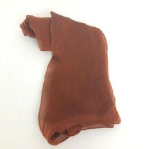 "Honey Collection Scarf Sheer Rectangle Bronze 70"" X 18""  - $11.98"