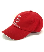 Cincinnati Reds Vintage MLB Team Color Unstructured Ball Cap (New) By Lo... - $19.99