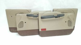 Full Set of Interior Door Panels Crew Cab OEM 2006 06 Ford F250SD R327381 - $390.40