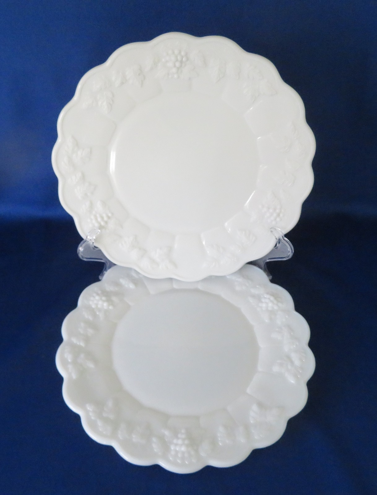 "Primary image for Westmoreland, Paneled Grape 10 1/2"" Dinner Plates, PG-81"