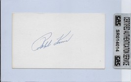 Ralph Kiner autographed signed index card Pirates Cubs Indians CAS certi... - $15.00