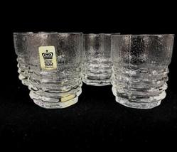 Vtg Mid-Century Modern Royal Krona Sweden Scandinavian Juice Glasses Bar... - $28.02
