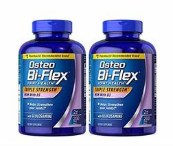 (pack of 2) Osteo Bi-Flex Glucosamine with MSM - 200 Tablets (Total 400 Tablets) - $73.25