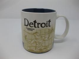 Starbucks 2010 Global Icon Collectors Series Detroit 16 oz. Mug Cup - $69.99