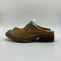 Timberland Smart Comfort System Women Brown Leather Mules Slip-On Shoes,Size7.5M - $17.82