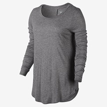 Hurley GTS0006620 Women's Staple Classic Shirt, Light Heather Grey - L