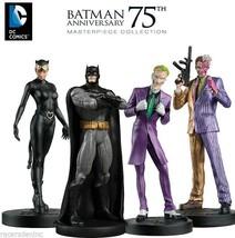 DC Comics Masterpiece Batman 75th Anniversary 4 Figurine Large Box Set E... - $57.42