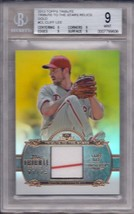 Cliff Lee 2013 Topps Tribute Tribute To The Stars Relic Gold 7/25 #TTSR-CL Bgs 9 - $29.70