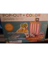 Pop Out Color in Pirates Petitcollage Kids Craft Kit Eco-Friendly Boys &... - $11.30