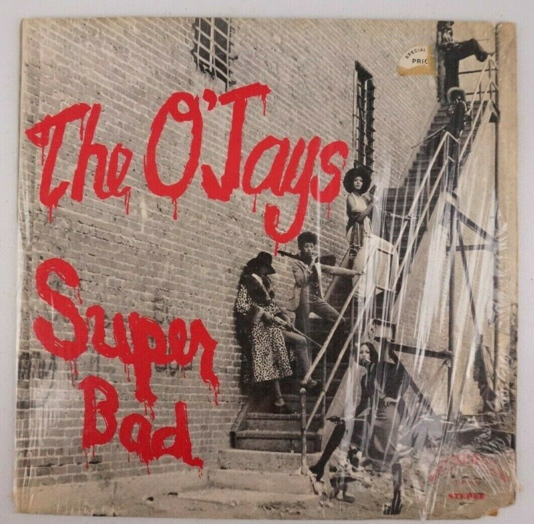 Primary image for The O'Jays Super Bad LP Album Record TLP-9510 Trip