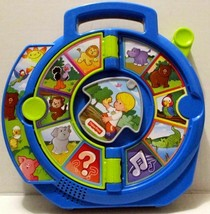 FISHER PRICE LITTLE PEOPLE WORLD OF ANIMALS SEE N SAY INTERACTIVE TODDLE... - $11.99