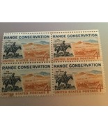 """US Postage Stamp Range Conservation """"the TRAIL BOSS"""" Henry cachet  1961 - $9.90"""