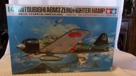 1/48 Scale Tamiya IJN Zero Fighter A6M3 Airplane Kit BNOS #61025 - $37.13