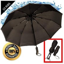 Umbrella Windproof Travel Compact Umbrellas for Women | Large and Bonus ... - $24.69