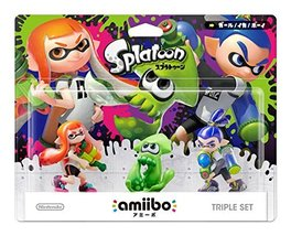 Splatoon 3-pack amiibo - Japan Import (Splatoon Series) [video game] - $107.58
