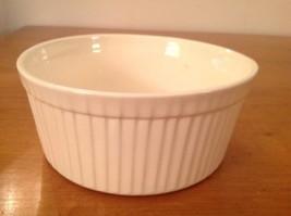 "Stangl Pottery Trenton N.J.  NJ Cream Ivory Souffle 6"" Cookrite Vertical... - $21.63 CAD"