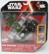 Star Wars Box busters Asteroid Field Chase & Endor Attack Factory Sealed - $21.31